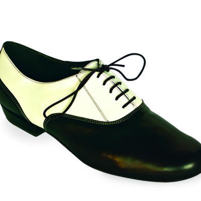 Classico Black and White Nappa Leather