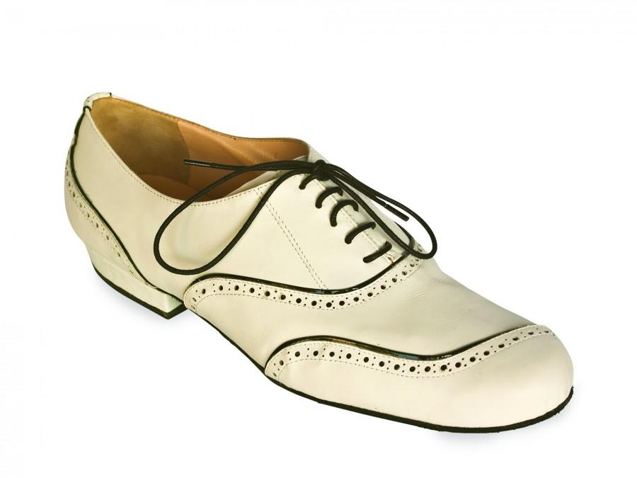 Asimetrico White Leather