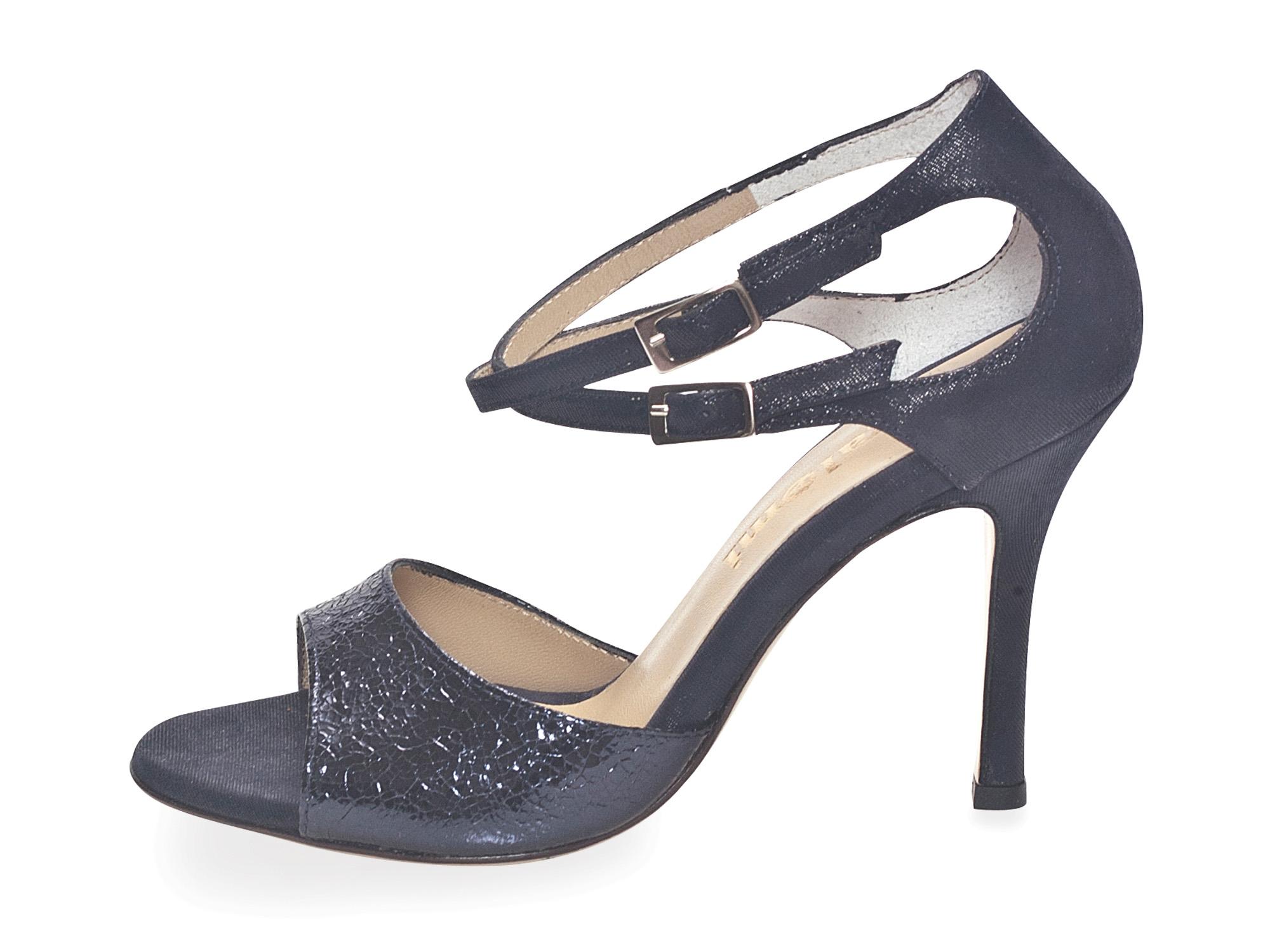 Soho (B) Midnight Blue Allure Leather