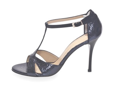 Mariposa Midnight Blue Allure Leather