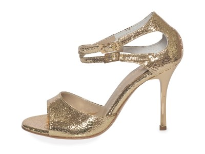 Soho (B) in Gold Allure Leather