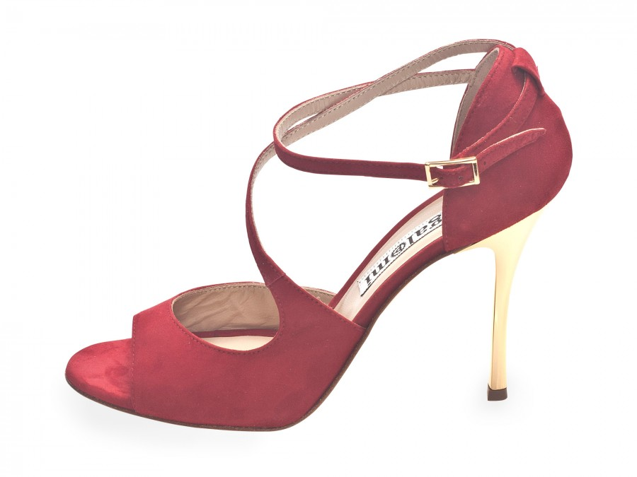 Venus in Glossy Red Soft Leather