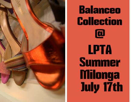 Balanceo Collection @ LPTA Summer Milonga, 17th July