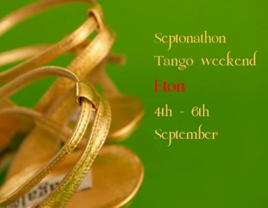 Balanceo @Septonathon Tango weekend Saturday 5th September