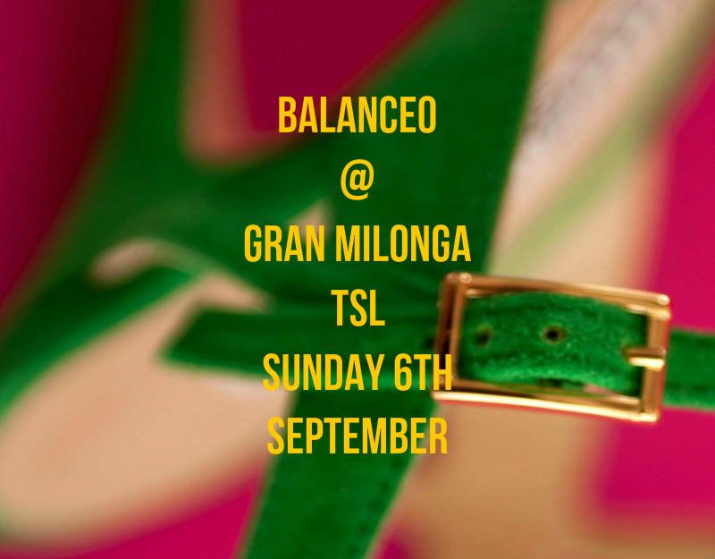 Balanceo Pop – Up Shop  @ TSL Gran Milonga