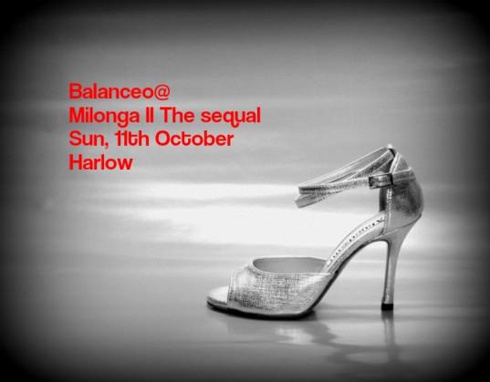 Balanceo @ Tango Moon's Milonga II The sequal