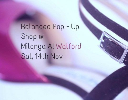 Balanceo@Milonga A ! Watford