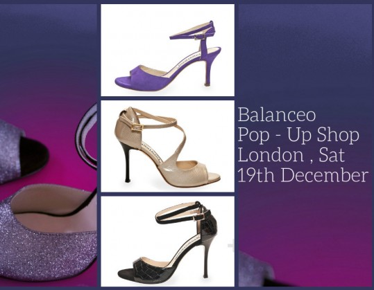 Balanceo Pop – Up Shop London 19th December !!