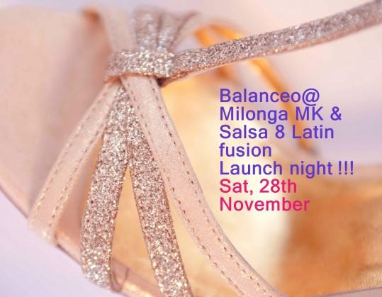 Balanceo Pop – up Shop @Milton Keynes New Latin Dance Fusion Evening