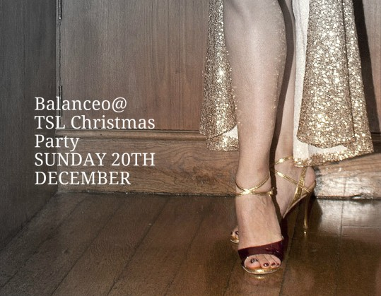 Balanceo @TSL Christmas Party, London SE22