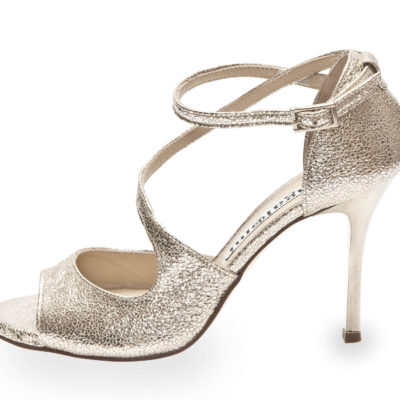 Venus Silver Allure Metallic Leather