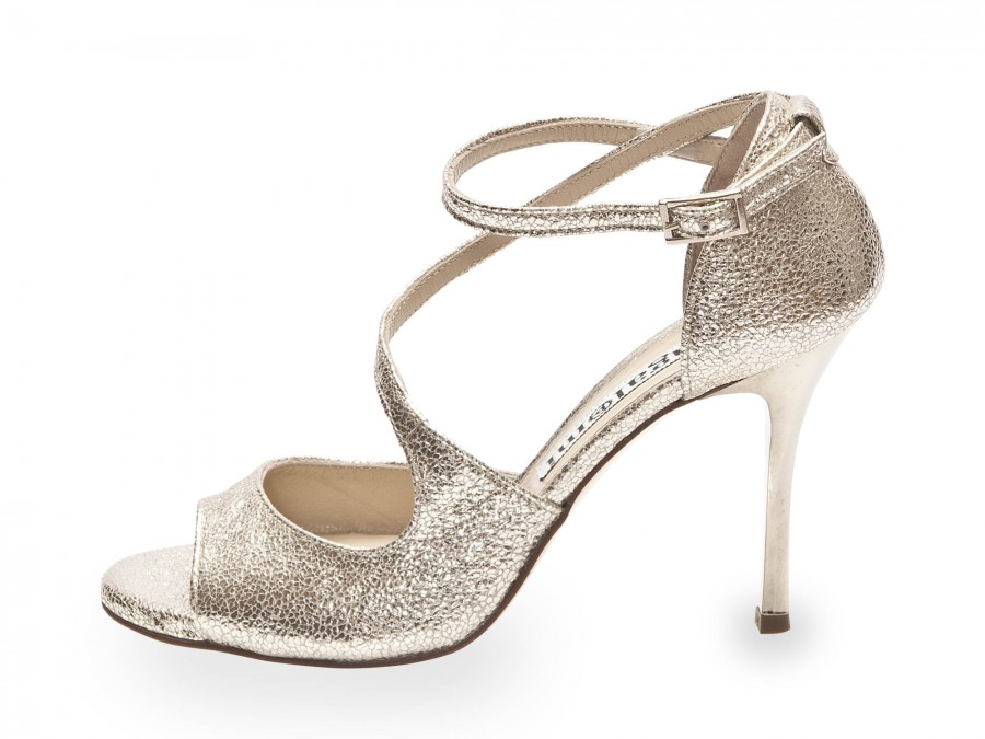 Venus Silver Allure Metallic Leather