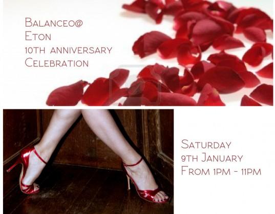 Balanceo @ Eton 10th anniversary celebration 9th January