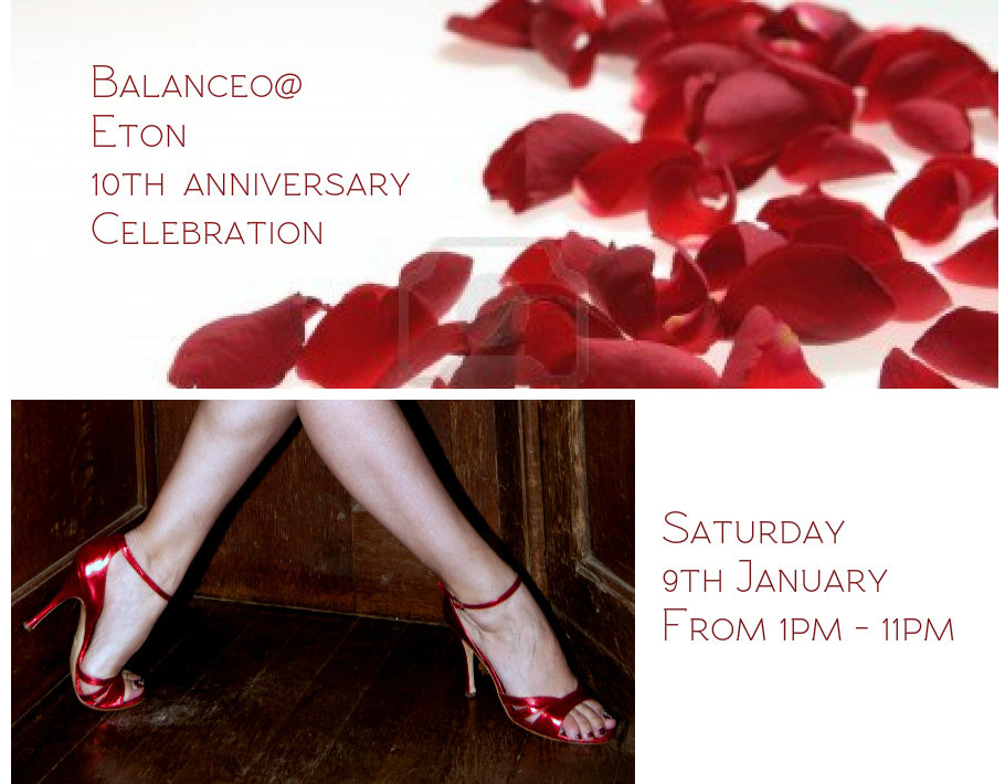 Balanceo @ Eton 10th anniversary celebration 9th January