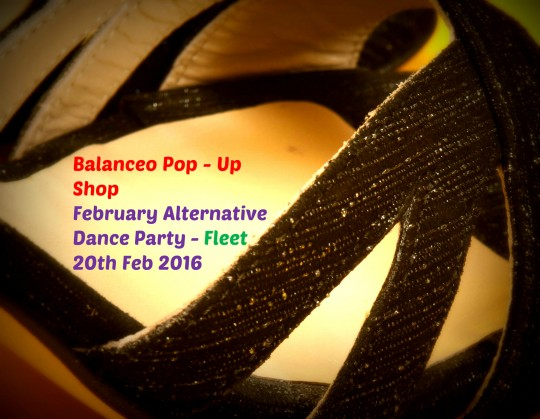 Balanceo Pop – Up Shop @ February Alternative Dance Party – Fleet