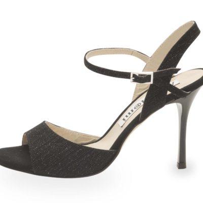Maia Single Strap Black Starlight Leather