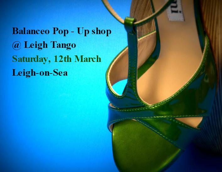 Balanceo@ Leigh Tango, 12th March, Leigh-on-Sea
