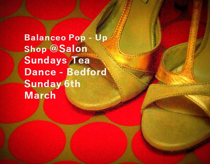 Balanceo@ Salon Sundays Tea Dance  – Bedford 6th March