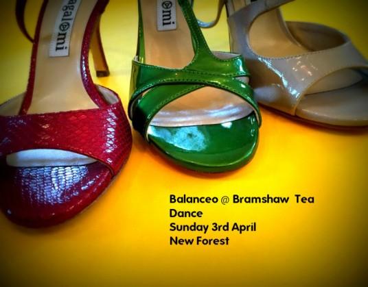 Balanceo @ Bramshaw Tea Dance  – New Forest,  Sunday 3rd April