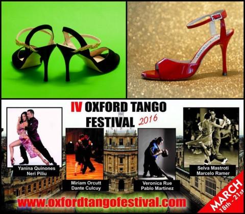 Balanceo @Oxford Tango Festival 2016. Saturday 19th March from 12.30 – 7pm