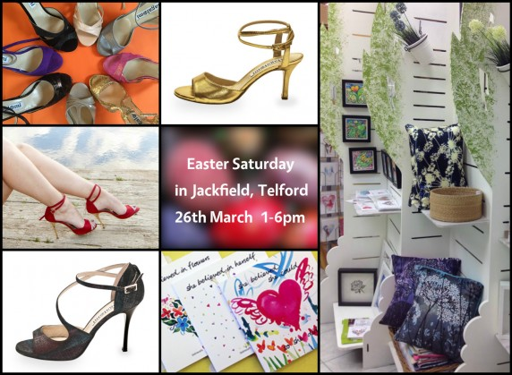 Balanceo Pop Up Boutique- Easter Saturday from  1-6pm, Telford !!!