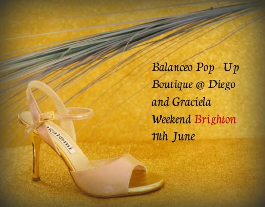 Balanceo Pop Up Boutique Brighton 11th June