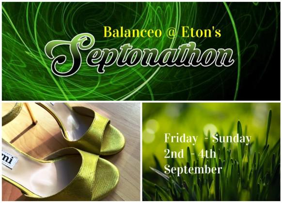 Balanceo@ Eton's SEPTONATHON.. 3 day Tango event in Eton September 2nd – 4th