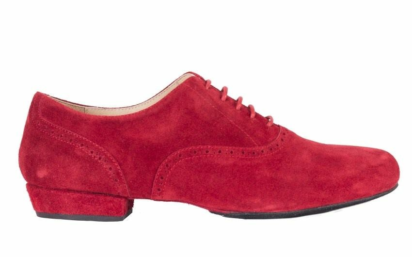 Classico All red Suede
