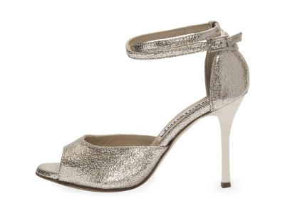 Lily Double Strap Silver Allure Leather