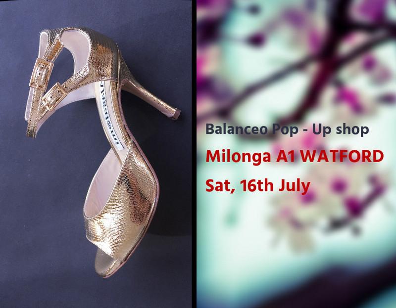 Balanceo@ Milonga A1 Watford