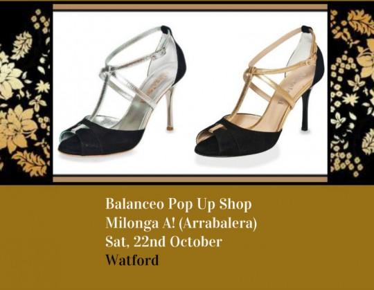 Balanceo @ Milonga A! 22nd October  – Watford