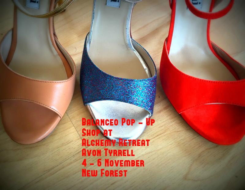 Balanceo Pop-Up Shop at Autumn TANGO ALCHEMY 4-6 November