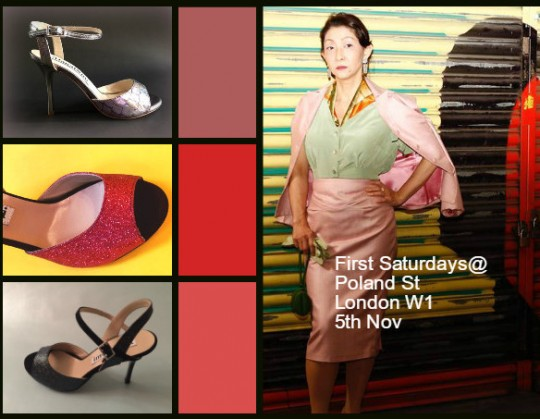 First Saturdays @ Poland Street, London W1, 5th November,  2-6PM