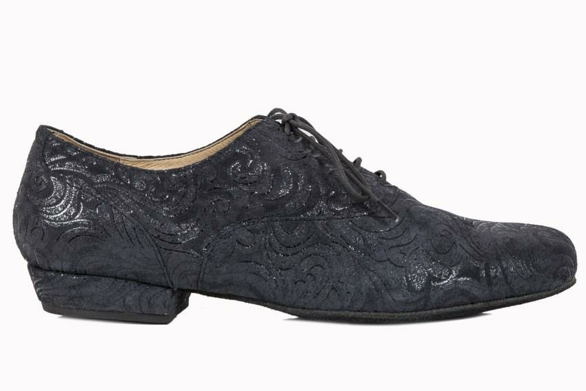 Classico in Black Paisley Leather  – Split Sole