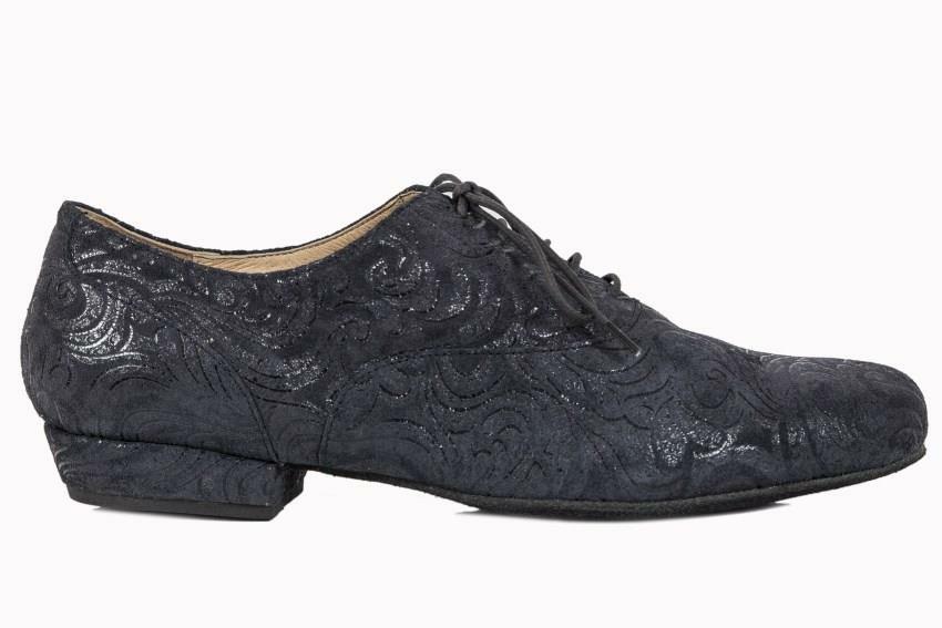 Classico in Black Paisley Leather  – Split Sole