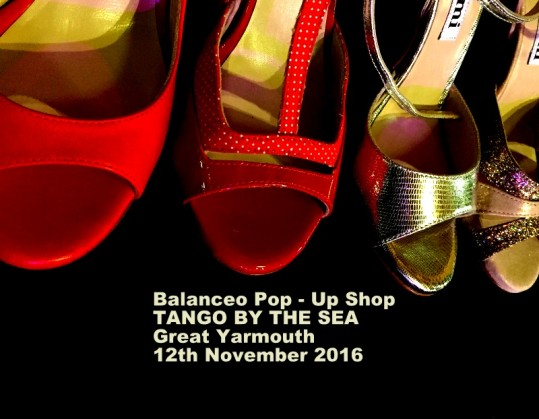 Balanceo Pop – Up Shop @TANGO BY THE SEA. Great Yarmouth