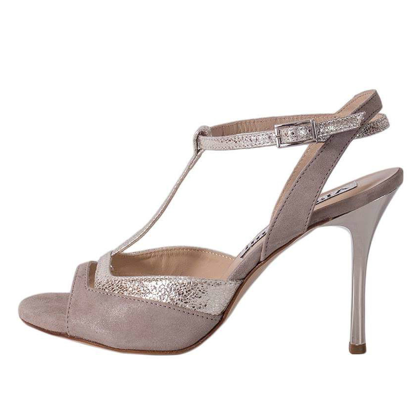 Alma Glossy Grey and Silver Allure Combination