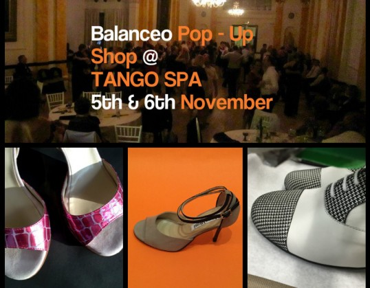 Balanceo @ Tango Spa 5th & 6th November