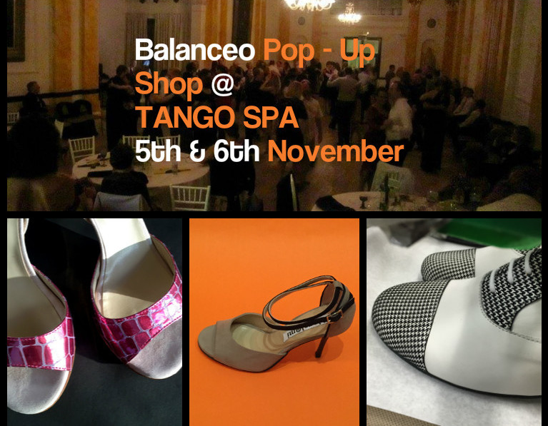 Balanceo @ Tango Spa 5th & 6th November
