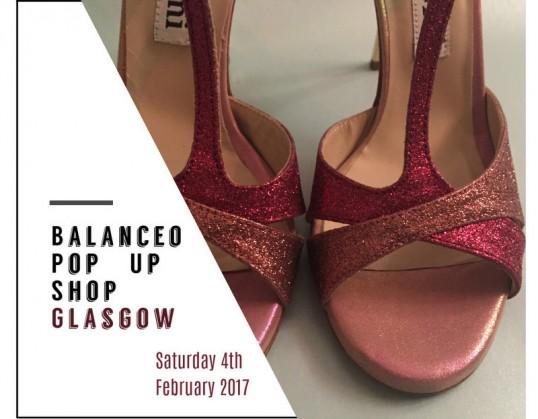 Balanceo Pop – Up shop, Glasgow Tango Festivalito, Saturday 4th Feb
