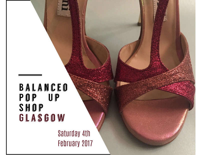 Balanceo Pop – Up shop, Glasgow Tango Festivalito, Saturday 4th Feb