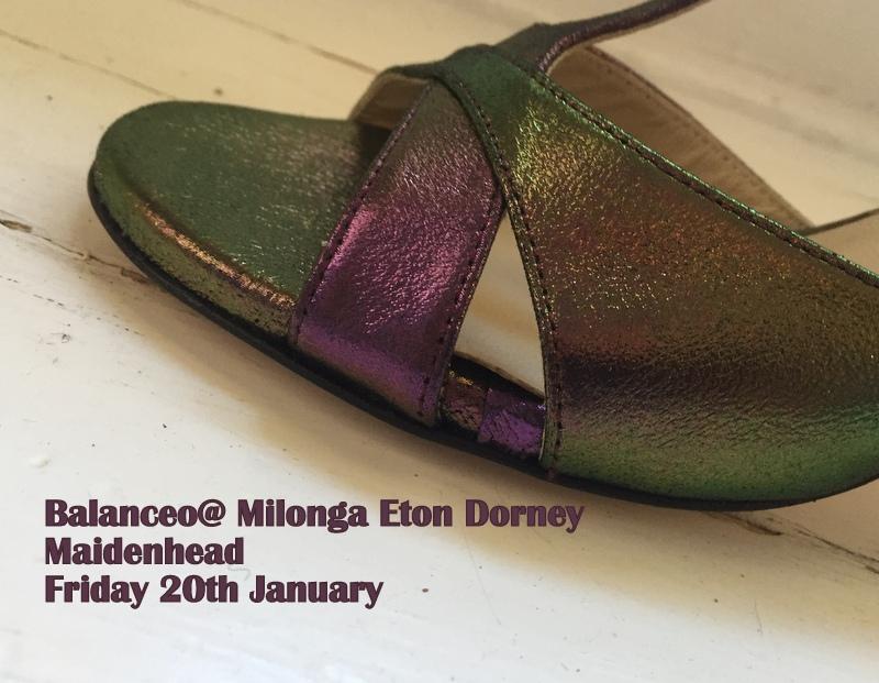 Balanceo @ Milonga Eton Dorney  – Friday 20th January