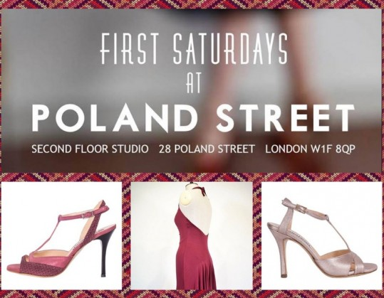 First Saturday in Poland Street . – London – 4th February 2017.