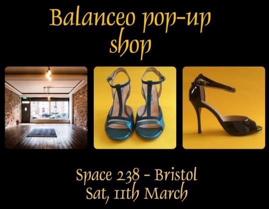 Balanceo Pop – Up Boutique  – Bristol, 11th March 2017