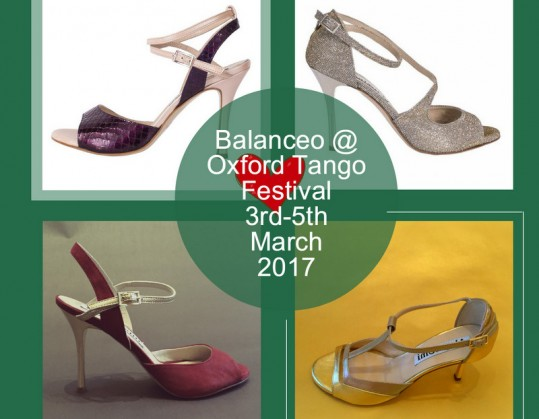 Balanceo @ Oxford Tango Festival 3rd and 4th March 2017 – Oxford