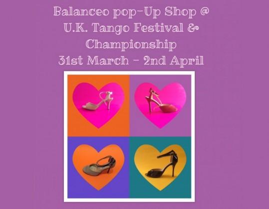 Balanceo Pop – Up Shop @UK Tango Festival & Championship 2017