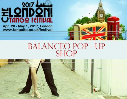 Balanceo Pop – Up Shop @ Che London 29th April – 1st May 2017