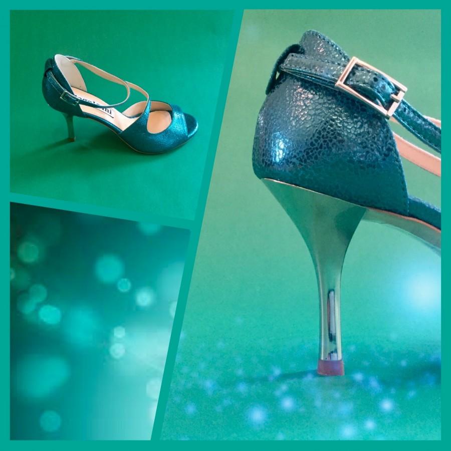 Venus Turquoise Allure Leather