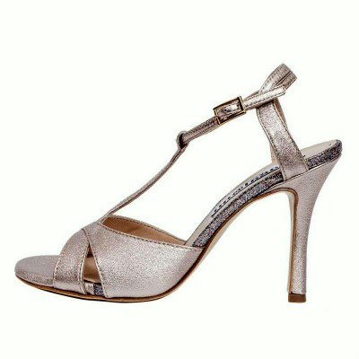 Maleva Cipria Metallic Nappa Leather