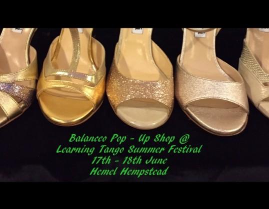 Balanceo pop – Up Shop @ Learning Tango Summer Festival 2017